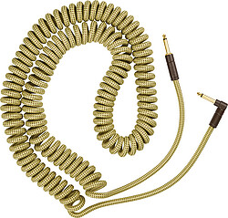 Fender® Deluxe Coil Cable, 30', Tweed