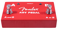 Fender® ABY Switch red